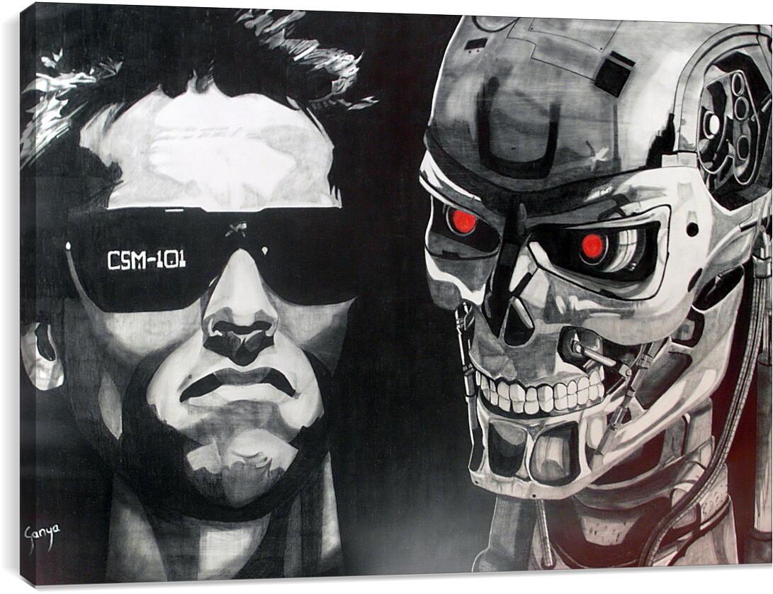 Арнольд Шварценеггер (Arnold Schwarzenegger)Личности<br>Модульная картина из 5 частей . Любые размеры и конфигурации на выбор. Материал печати: натуральный холст.<br>Размер: 90x63 см., 120x85 см., 150x106 см.;