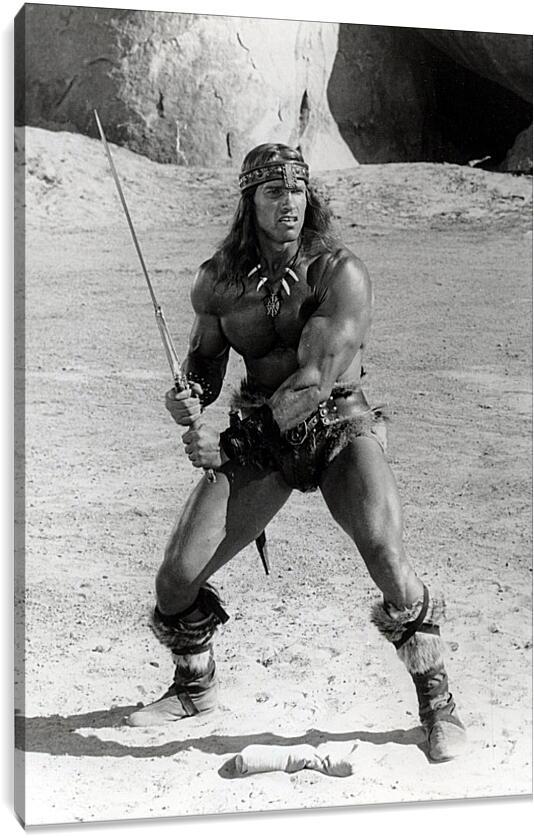 Арнольд Шварценеггер (Arnold Schwarzenegger)Личности<br>Модульная картина из 4 частей . Любые размеры и конфигурации на выбор. Материал печати: натуральный холст.<br>Размер: 62x90 см., 83x120 см., 104x150 см.;