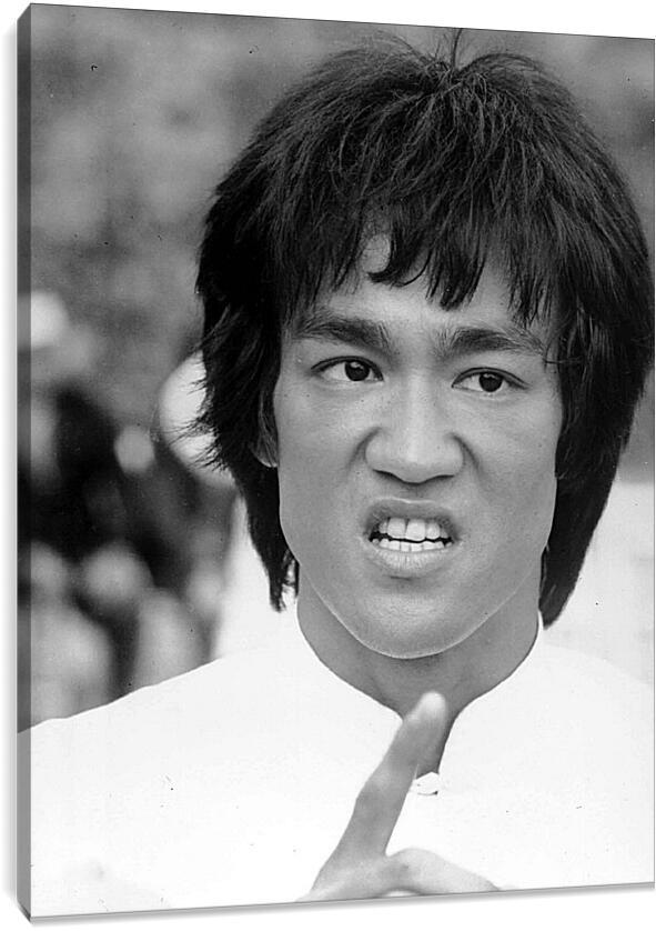 Брюс Ли (Bruce Lee)Личности<br>Модульная картина из 5 частей . Любые размеры и конфигурации на выбор. Материал печати: натуральный холст.<br>Размер: 69x90 см., 92x120 см., 115x150 см.;