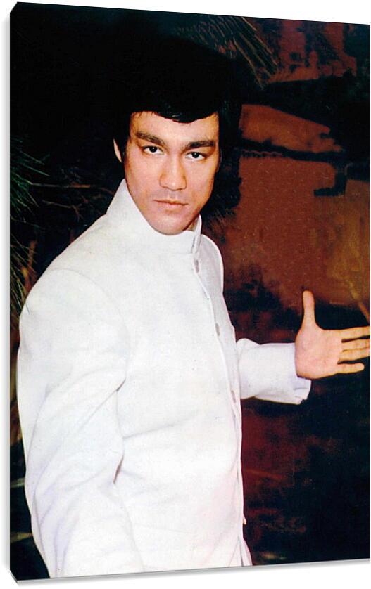Брюс Ли (Bruce Lee)Личности<br>Модульная картина из 3 частей . Любые размеры и конфигурации на выбор. Материал печати: натуральный холст.<br>Размер: 62x90 см., 82x120 см., 103x150 см.;