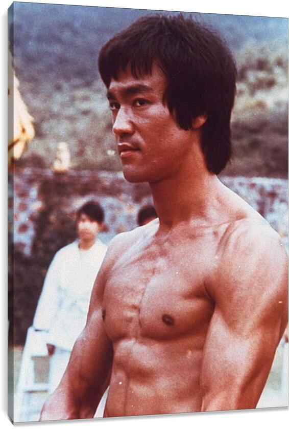 Брюс Ли (Bruce Lee)Личности<br>Модульная картина из 5 частей . Любые размеры и конфигурации на выбор. Материал печати: натуральный холст.<br>Размер: 66x90 см., 88x120 см., 110x150 см.;
