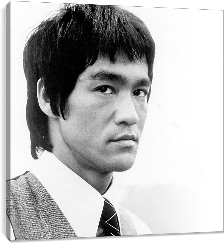 Брюс Ли (Bruce Lee)Личности<br>Модульная картина из 4 частей . Любые размеры и конфигурации на выбор. Материал печати: натуральный холст.<br>Размер: 90x90 см., 120x120 см., 150x150 см.;