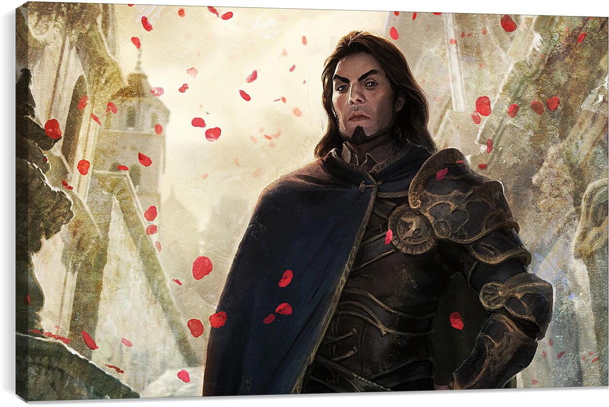 Dragon Age: OriginsВидео игры<br>Модульная картина из 4 частей . Любые размеры и конфигурации на выбор. Материал печати: натуральный холст.<br>Размер: 90x55 см., 120x74 см., 150x92 см.;