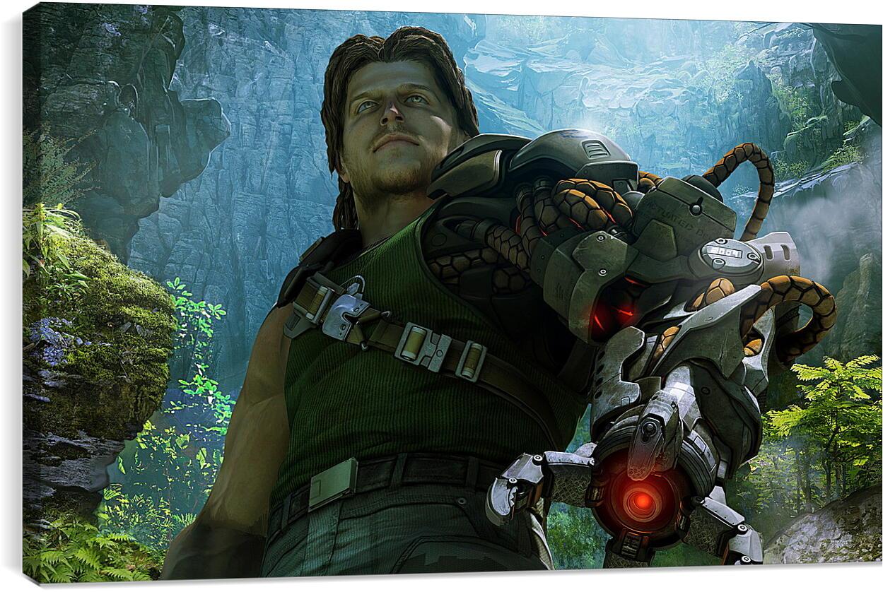 Bionic CommandoВидео игры<br>Модульная картина из 3 частей . Любые размеры и конфигурации на выбор. Материал печати: натуральный холст.<br>Размер: 90x55 см., 120x74 см., 150x92 см.;