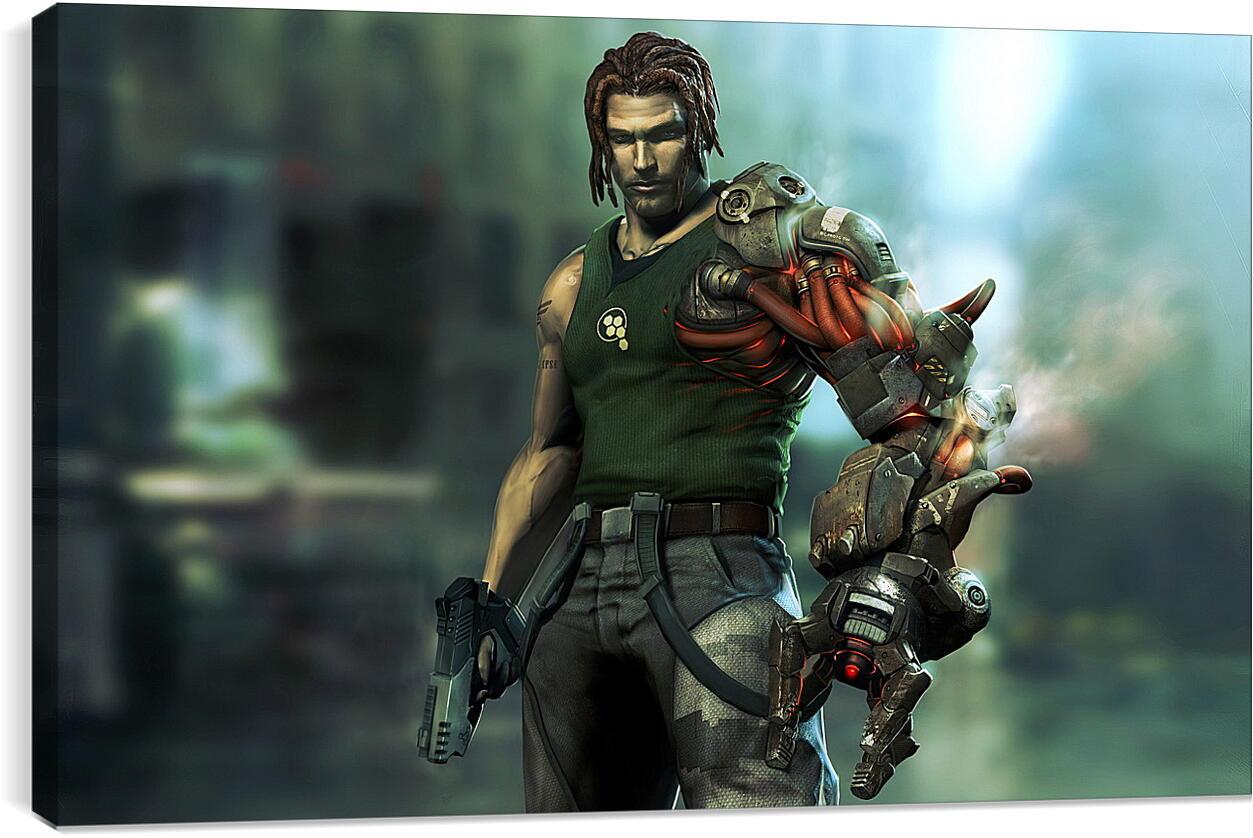 Bionic CommandoВидео игры<br>Модульная картина из 5 частей . Любые размеры и конфигурации на выбор. Материал печати: натуральный холст.<br>Размер: 90x55 см., 120x74 см., 150x92 см.;