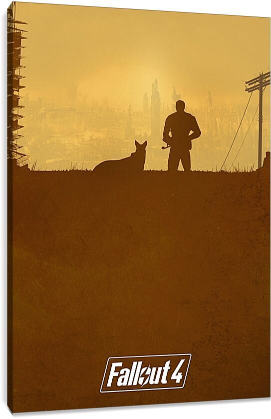 FalloutВидео игры<br>Модульная картина из 3 частей . Любые размеры и конфигурации на выбор. Материал печати: натуральный холст.<br>Размер: 63x90 см., 85x120 см., 106x150 см.;