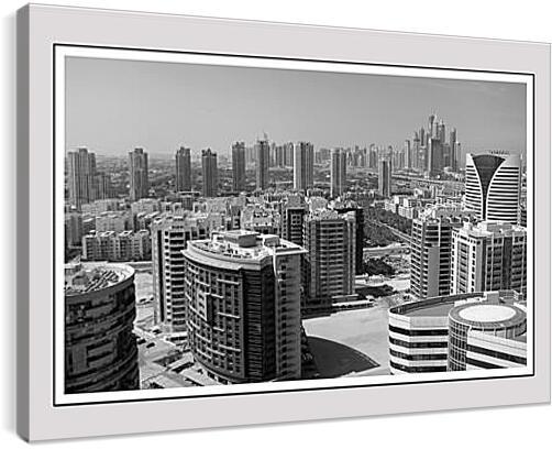 Panorama Dubai - Панорама ДубаиАрхитектура<br>Модульная картина из 5 частей . Любые размеры и конфигурации на выбор. Материал печати: натуральный холст.<br>Размер: 90x59 см., 120x79 см., 150x99 см.;
