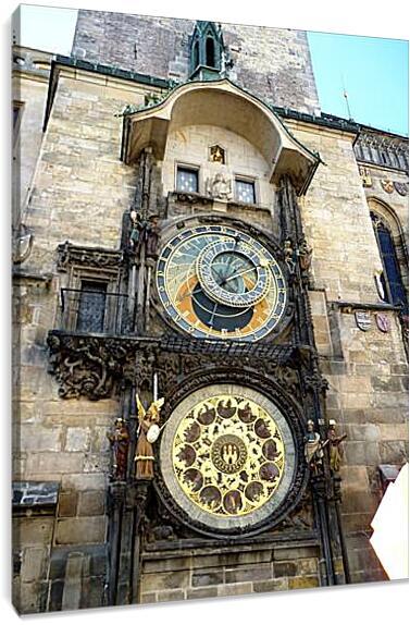 Prague Astronomical Clock - Пражский ОрлойАрхитектура<br>Модульная картина из 3 частей . Любые размеры и конфигурации на выбор. Материал печати: натуральный холст.<br>Размер: 68x90 см., 90x120 см., 113x150 см.;