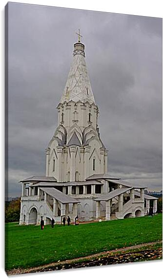 Коломенское Церковь вознесенияАрхитектура<br>Модульная картина из 3 частей . Любые размеры и конфигурации на выбор. Материал печати: натуральный холст.<br>Размер: 60x90 см., 80x120 см., 100x150 см.;