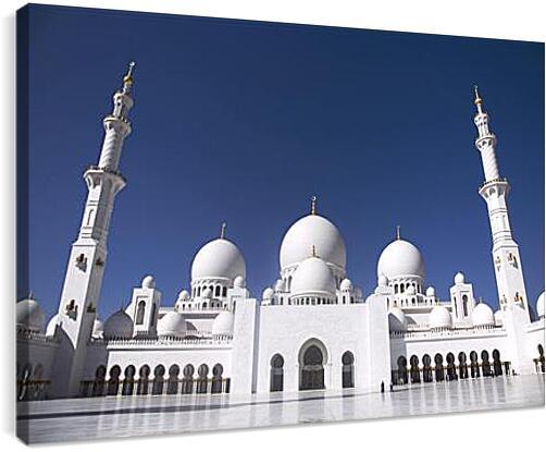 мечеть - мечетьАрхитектура<br>Модульная картина из 4 частей . Любые размеры и конфигурации на выбор. Материал печати: натуральный холст.<br>Размер: 90x61 см., 120x81 см., 150x101 см.;