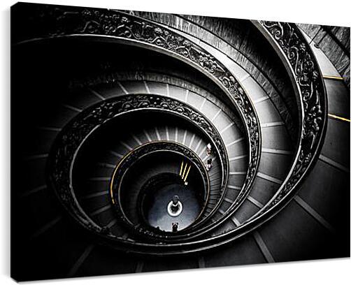 ЛестницаАрхитектура<br>Модульная картина из 2 частей . Любые размеры и конфигурации на выбор. Материал печати: натуральный холст.<br>Размер: 90x60 см., 120x80 см., 150x100 см.;