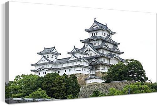 Китайский дворецАрхитектура<br>Модульная картина из 2 частей . Любые размеры и конфигурации на выбор. Материал печати: натуральный холст.<br>Размер: 90x46 см., 120x62 см., 150x77 см.;