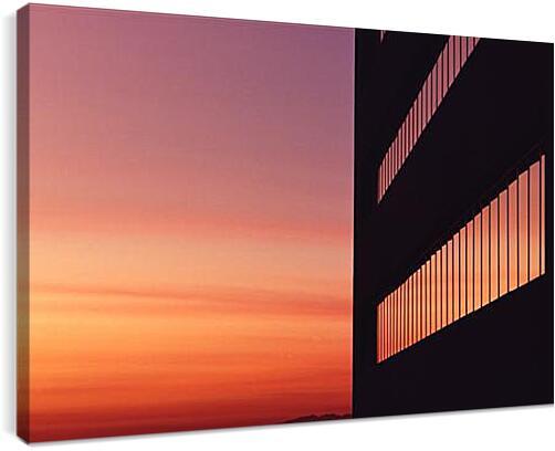 ЗакатАрхитектура<br>Модульная картина из 5 частей . Любые размеры и конфигурации на выбор. Материал печати: натуральный холст.<br>Размер: 90x59 см., 120x79 см., 150x99 см.;