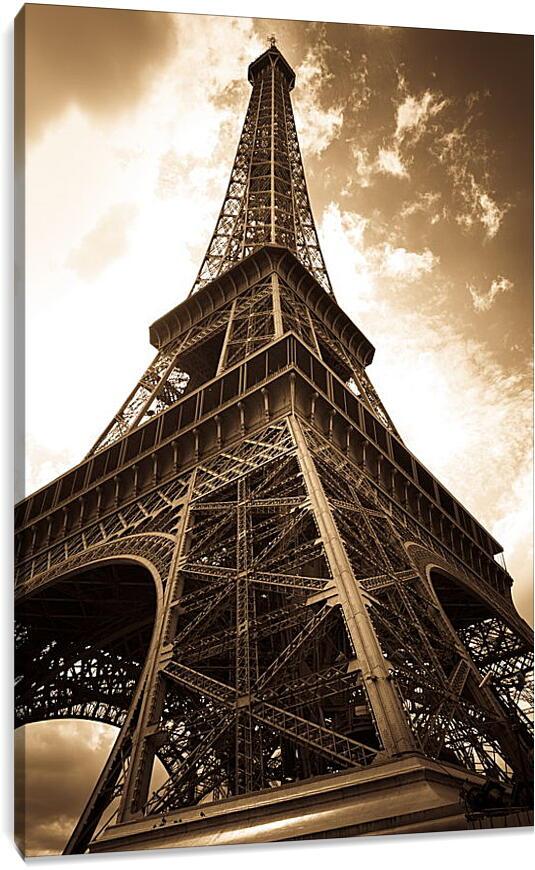 Эйфелева башняГорода<br>Модульная картина из 4 частей . Любые размеры и конфигурации на выбор. Материал печати: натуральный холст.<br>Размер: 60x90 см., 80x120 см., 100x150 см.;