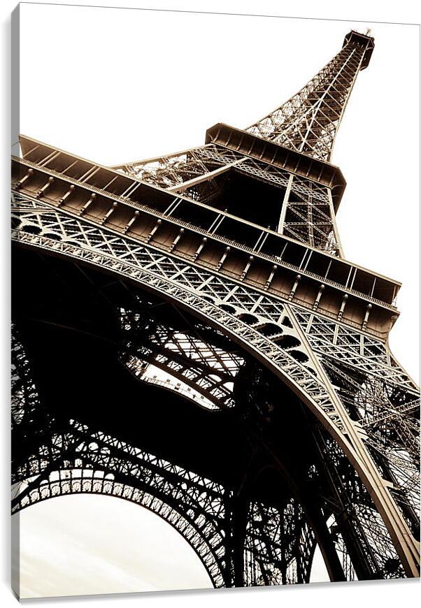 Париж Эйфелева башняГорода<br>Модульная картина из 4 частей . Любые размеры и конфигурации на выбор. Материал печати: натуральный холст.<br>Размер: 68x90 см., 90x120 см., 113x150 см.;