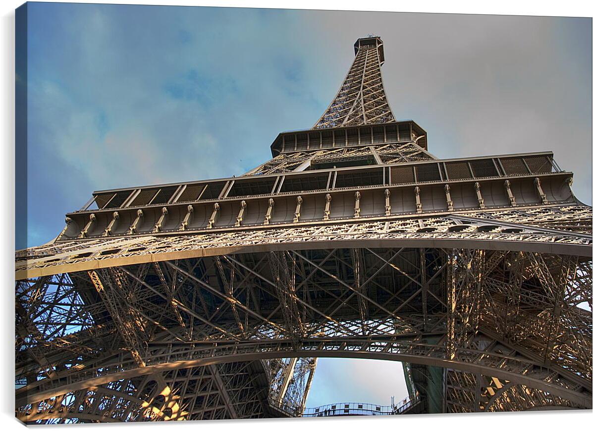 Эйфелева башняГорода<br>Модульная картина из 3 частей . Любые размеры и конфигурации на выбор. Материал печати: натуральный холст.<br>Размер: 90x60 см., 120x80 см., 150x100 см.;