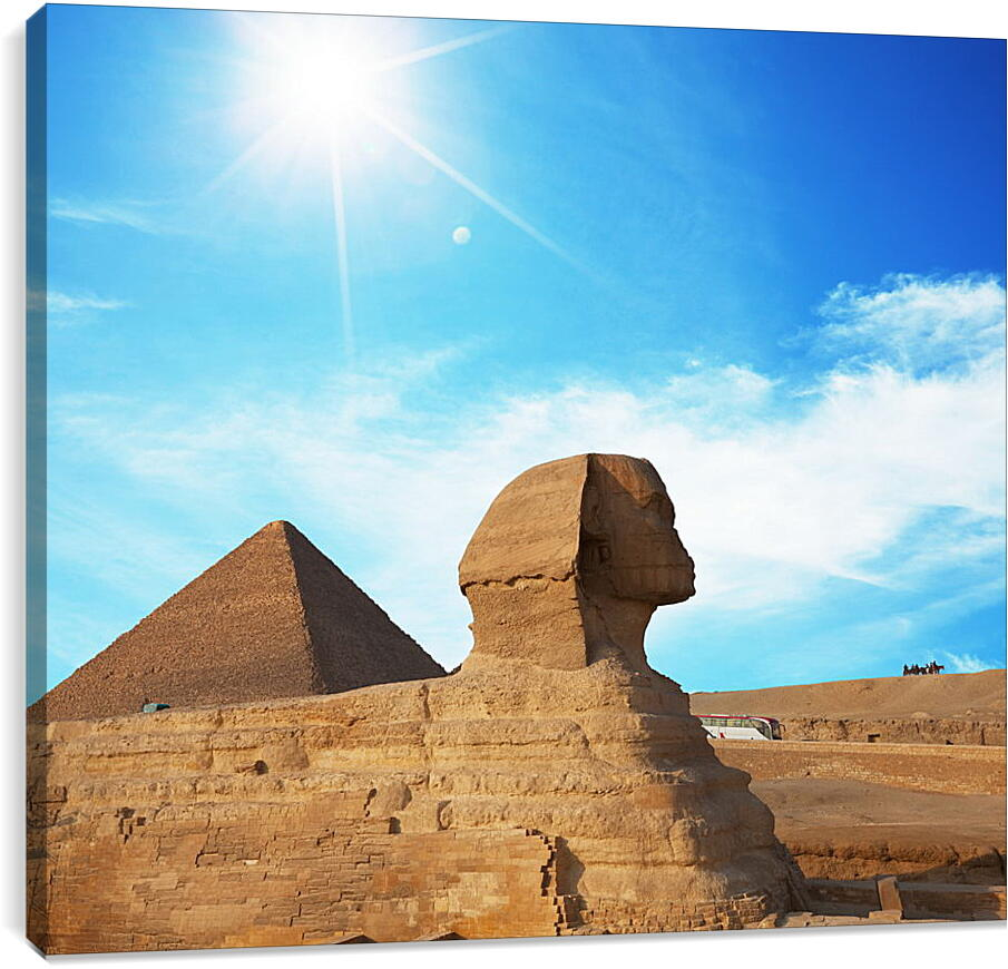 Египетский СфинксГорода<br>Модульная картина из 5 частей . Любые размеры и конфигурации на выбор. Материал печати: натуральный холст.<br>Размер: 90x80 см., 120x106 см., 150x133 см.;