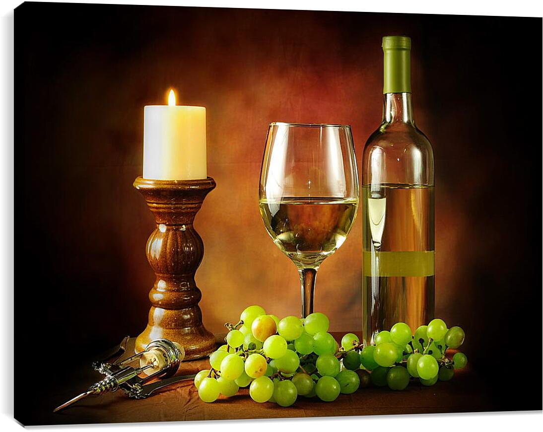 Вечер вино отдыхКухня<br>Модульная картина из 3 частей . Любые размеры и конфигурации на выбор. Материал печати: натуральный холст.<br>Размер: 90x66 см., 120x88 см., 150x110 см.;