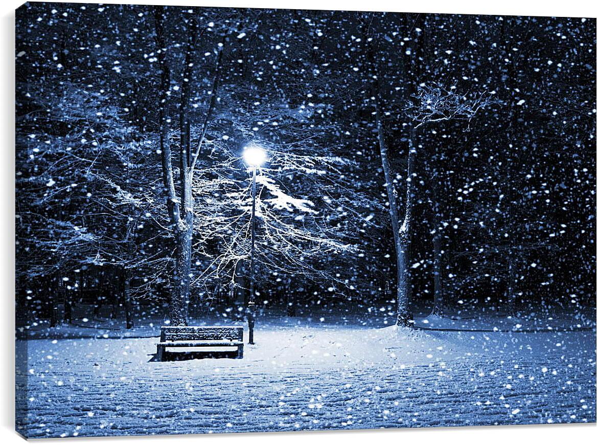 Одиночество в снегуПрирода<br>Модульная картина из 5 частей . Любые размеры и конфигурации на выбор. Материал печати: натуральный холст.<br>Размер: 90x62 см., 120x82 см., 150x103 см.;