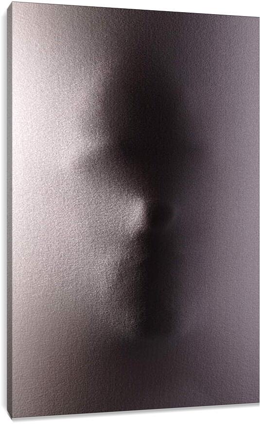 Лицо за тканьюЛюди<br>Модульная картина из 4 частей . Любые размеры и конфигурации на выбор. Материал печати: натуральный холст.<br>Размер: 60x90 см., 80x120 см., 100x150 см.;