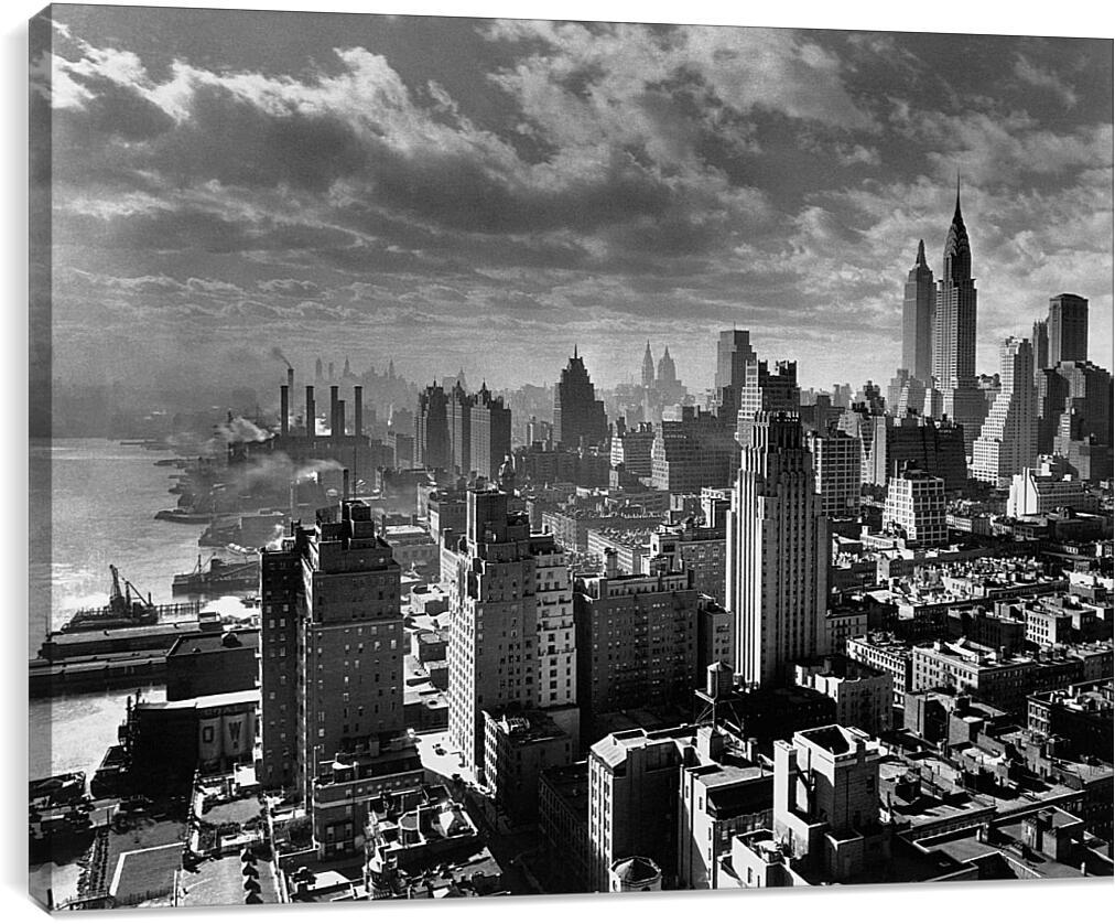 Америка 30-х годовСтраны<br>Модульная картина из 3 частей . Любые размеры и конфигурации на выбор. Материал печати: натуральный холст.<br>Размер: 90x68 см., 120x91 см., 150x114 см.;