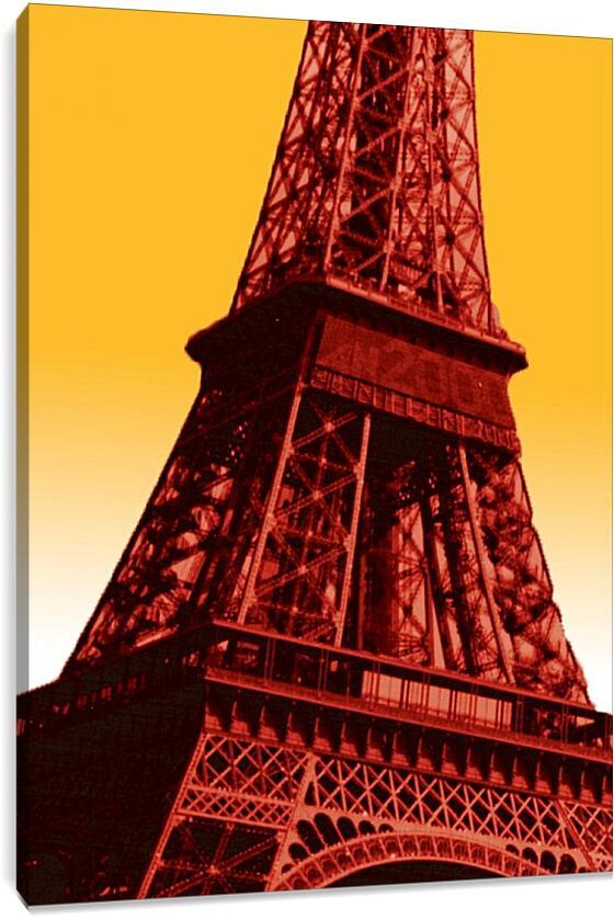 Эйфелева башня. Поп-артСтраны<br>Модульная картина из 5 частей . Любые размеры и конфигурации на выбор. Материал печати: натуральный холст.<br>Размер: 65x90 см., 87x120 см., 109x150 см.;