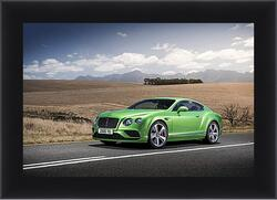 Картина в раме - Бентли (Bentley continental gt)