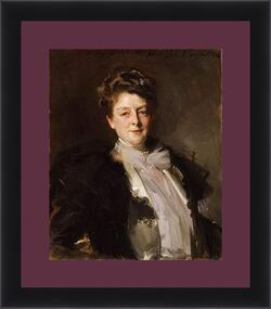Картина в раме - Portrait of Mrs. J. William White. Джон Сингер Сарджент